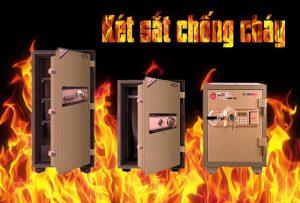 két sắt chống cháy nên sử dụng